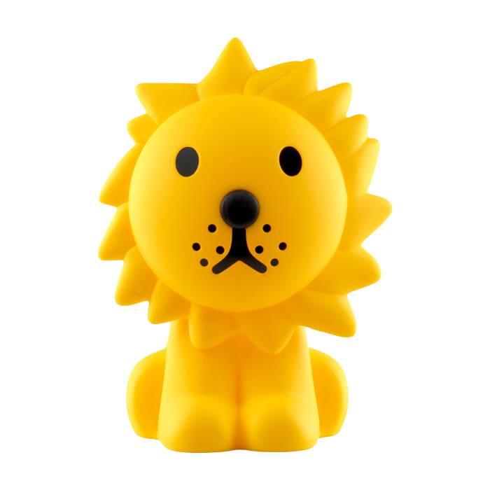 lampe-lion-jaune-design