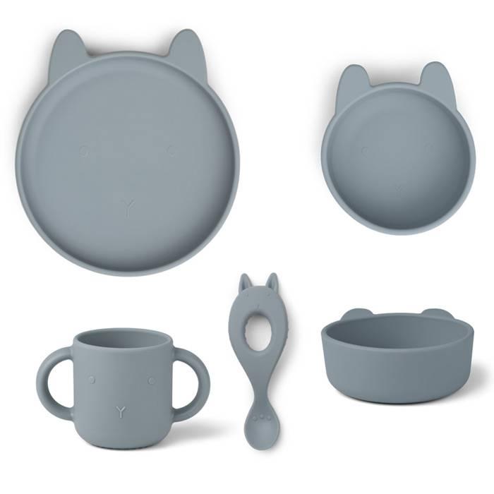 liewood-coffret-repas-silicone-ensemble-4-pieces-lapin-bleu