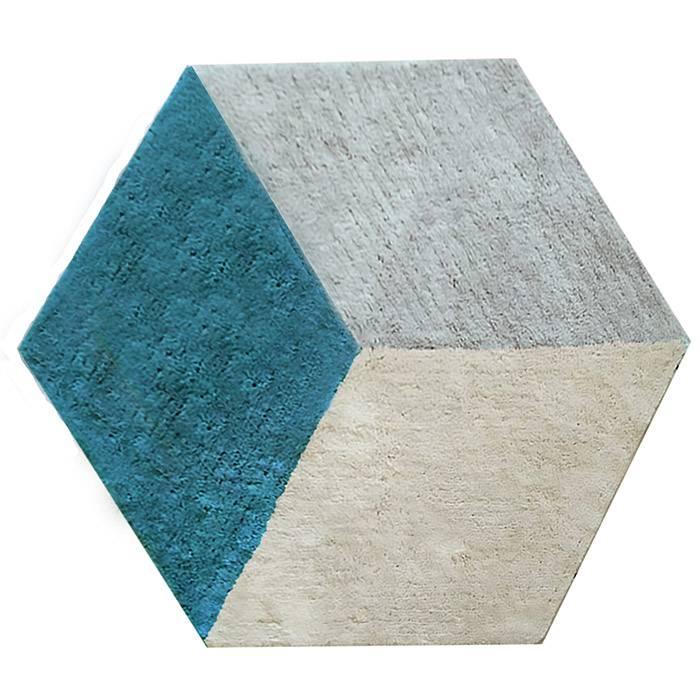 afk-living-tapis-lavable-cube-bleu