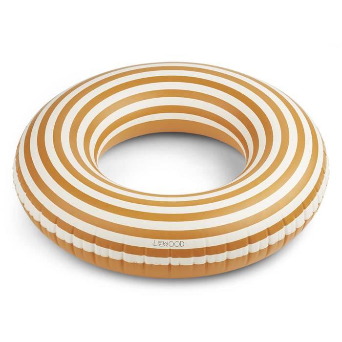 bouee-90cm-diametre-exterieur-donna-rayures-moutarde-liewood