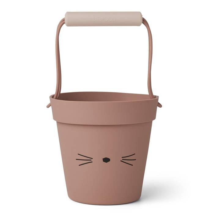 seau-en-silicone-pour-la-plage-chat-rose