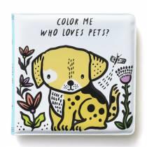 Livre de bain à colorier - Animaux domestiques
