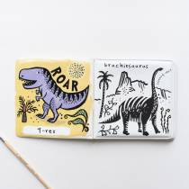 Livre de bain à colorier - Dinosaures
