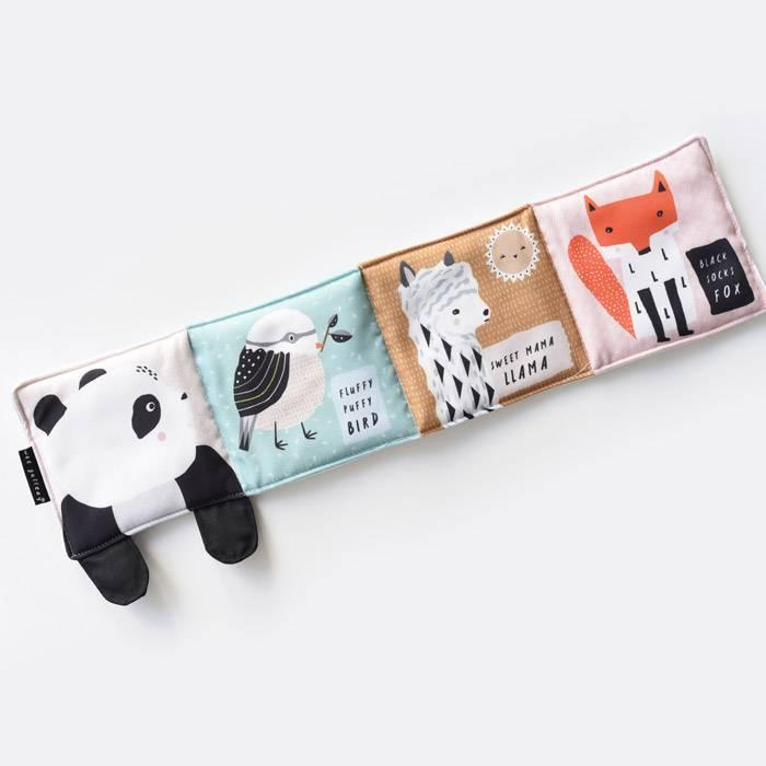 Livre en tissu - Panda