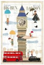 Puzzle-carton-enfant-big-ben-londres-londji