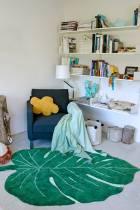 Monstera-vert-120x180cm-tapis-lavable-en-machine