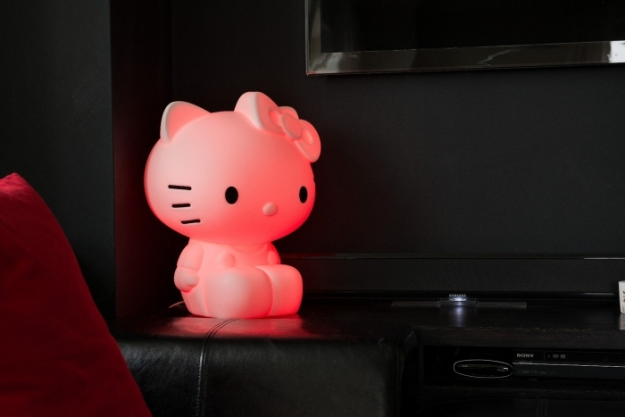 Lampe design hello kitty - Decoration hello kitty pour chambre bebe ...