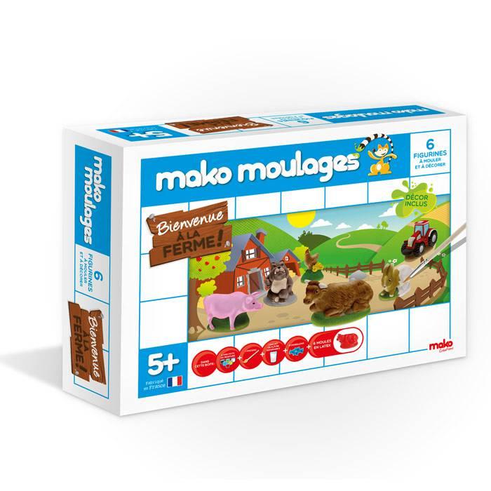 Mako moulages - 6 figurines - A la Ferme