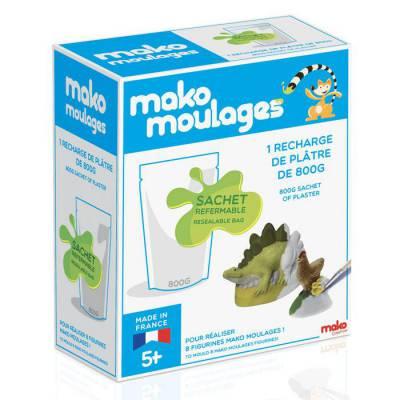 Mako moulages - Recharge plâtre 800 gr