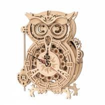 Puzzle-3D-Horloge-Hibou