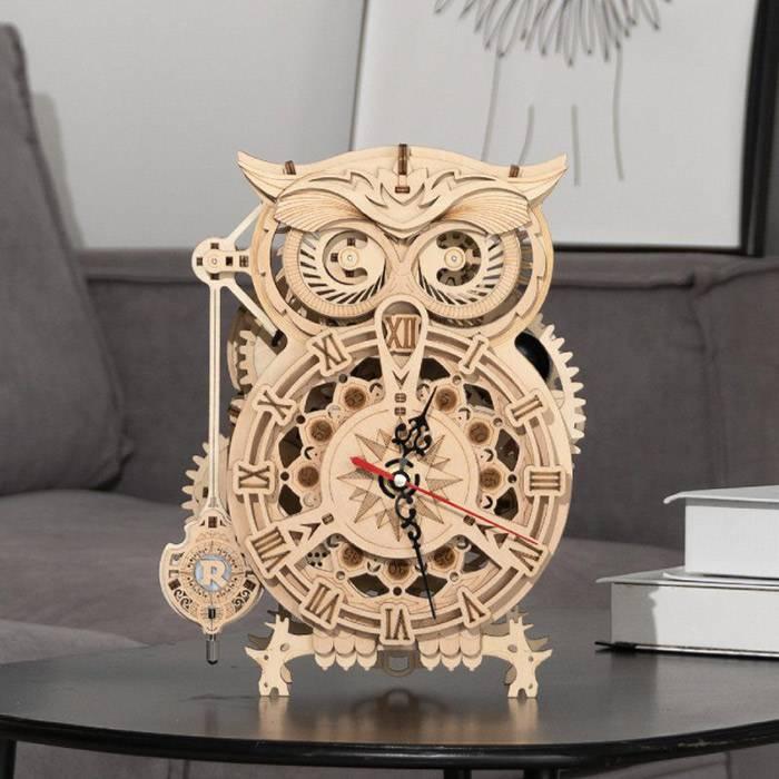 Maquette-3D-Horloge-engrenage-mecanique