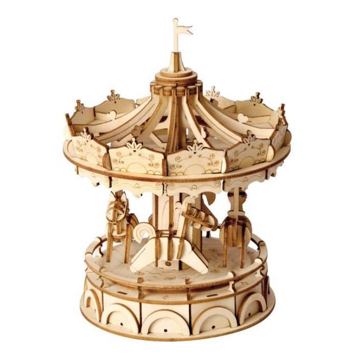 maquette-en-bois-3d-carrousel