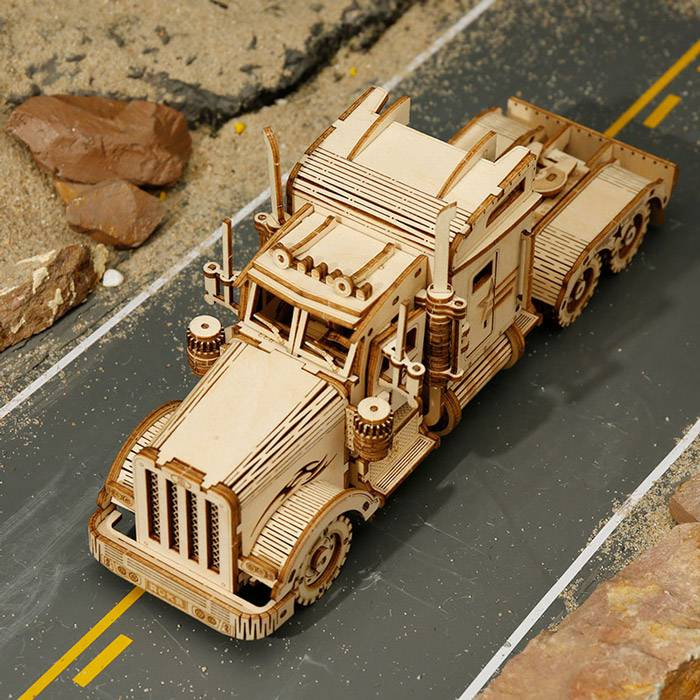 maquette-3d-camion-americain