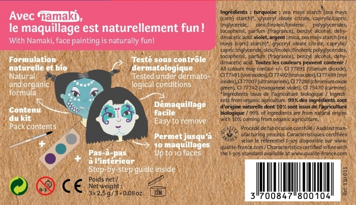 maquillage-bio-enfant-sirene-fee-facilement