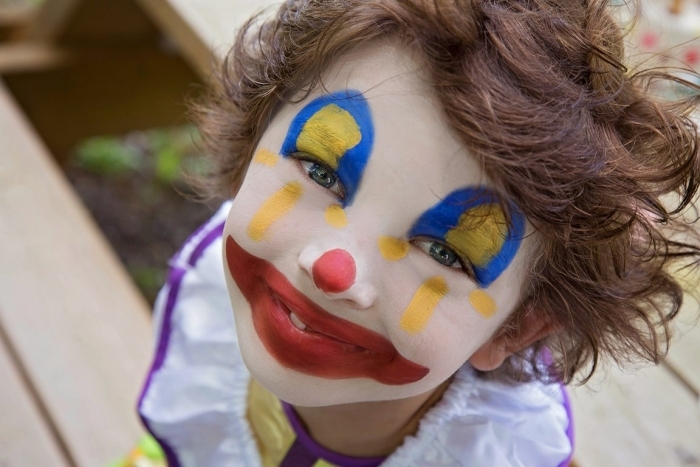 Maquillage-deguisement-clown-super-hero-namaki