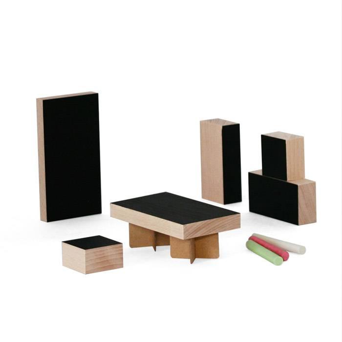 mobilier-maison-poupee-cube-ardoise