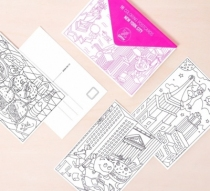 cartes-postales-coloriage-nyc