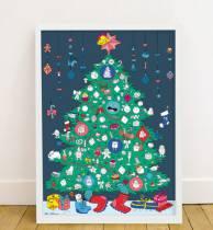 arbre-noel-poster-geant-et-stickers-omy