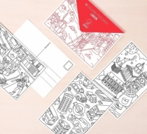 coloriage-omy-cartes-postales-londres