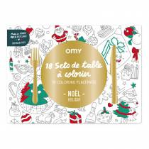 Set-table-coloriage-noel
