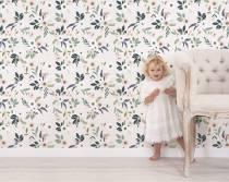 papier-peint-flroal-chambre-enfant
