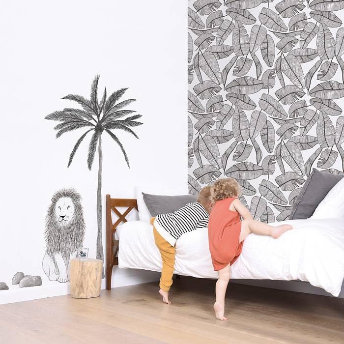 papier-peint-feuilles-tropicales