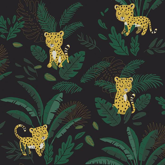 lilipinso-papier-peint-guepards-fond-sombre