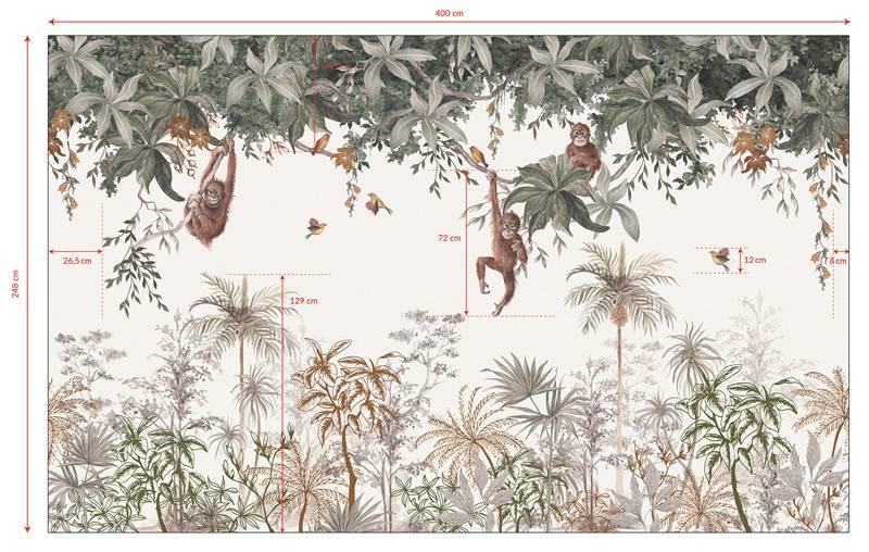 dimensions-decor-mural-papier-peint-intisse-gunung-palung