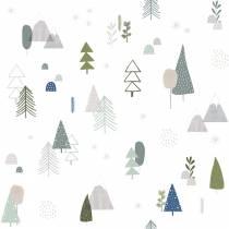 Papier peint motif Forêt - 10 m