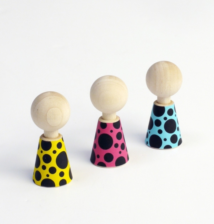 Figurines-pebbles-couleur