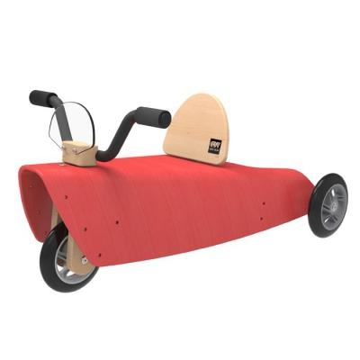 Porteur-chou-du-volant-roulette-rouge
