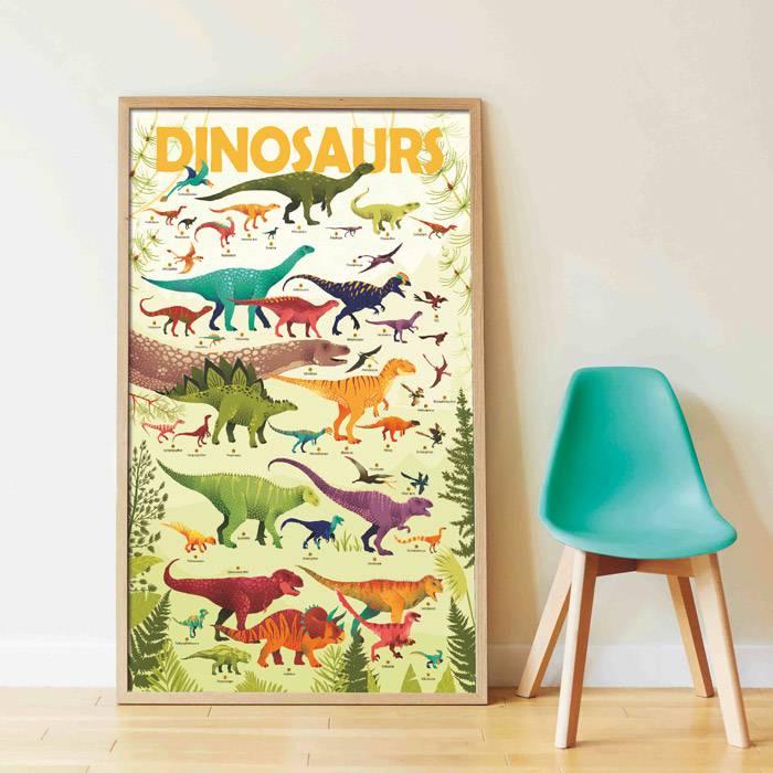 poster-décoratif-dinosaures-poppik