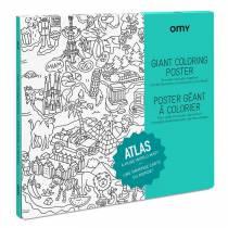 coloriage-enfant-poster-atlas-terre
