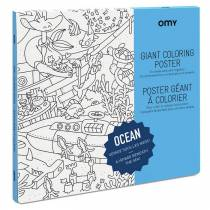 colorier-dessin-poster-ocean