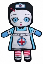 Poupee-2-faces-villa-carton-infirmiere