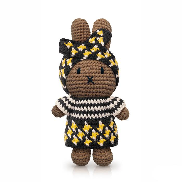 Poupee-miffy-afro-crochet