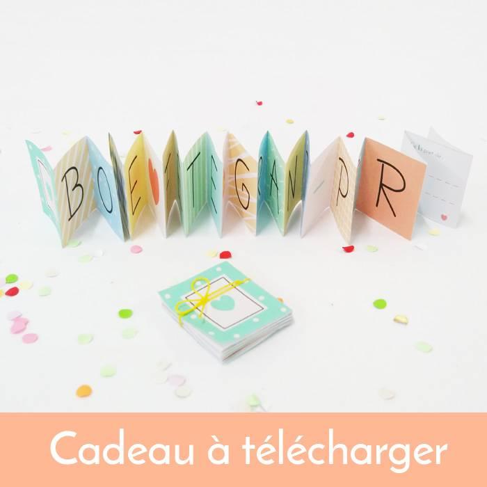 Printable Mini Livre Bonne Fete Grand Pere
