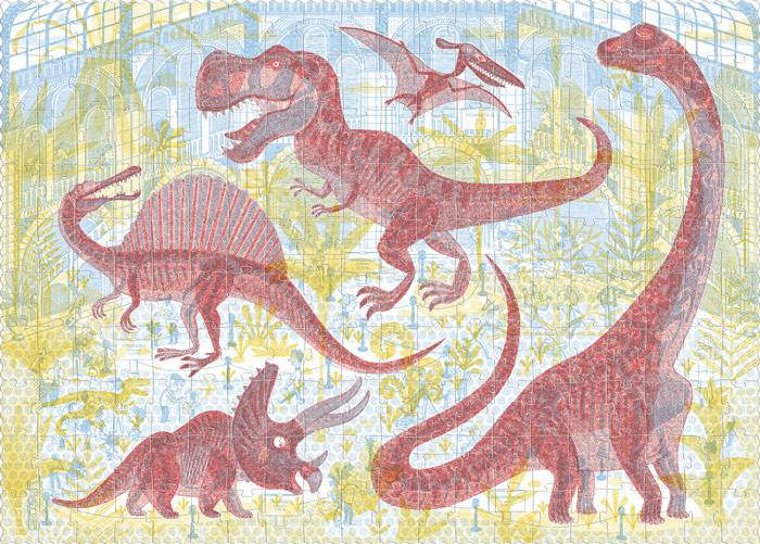 Puzzle Découvrir les dinosaures