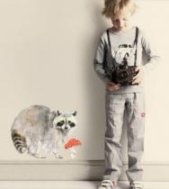 Sticker-chambre-enfant-raton-laveur