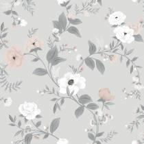 lilipinso-papier-peint-intisse-roses-sur-fond-gris