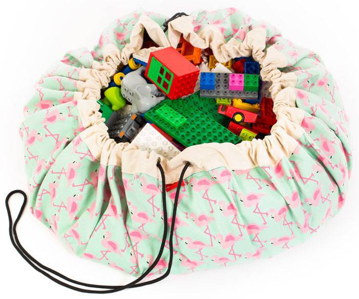 play-and-go-sac-rangement-flamingo