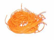 Scoubidou Orange fluo - le brin de 150 cm