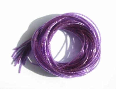 Scoubidou-violet-paillette