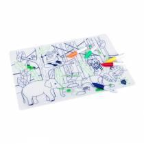 Set de table à colorier - Jungle - Wildlife