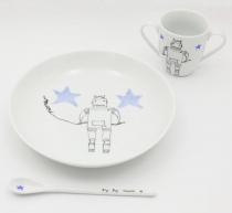 Set repas personnalisable Robot