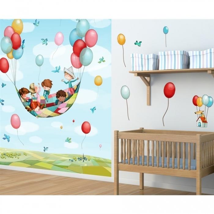 Sticker-mural-geant-chambre-enfant-dans-les-airs