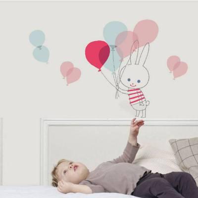 artforkids-sticker-balloon-rabbit