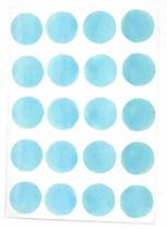 Sticker-aquarelle-bleu-ciel