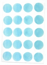 Sticker-aquarelle-bleu-ciel