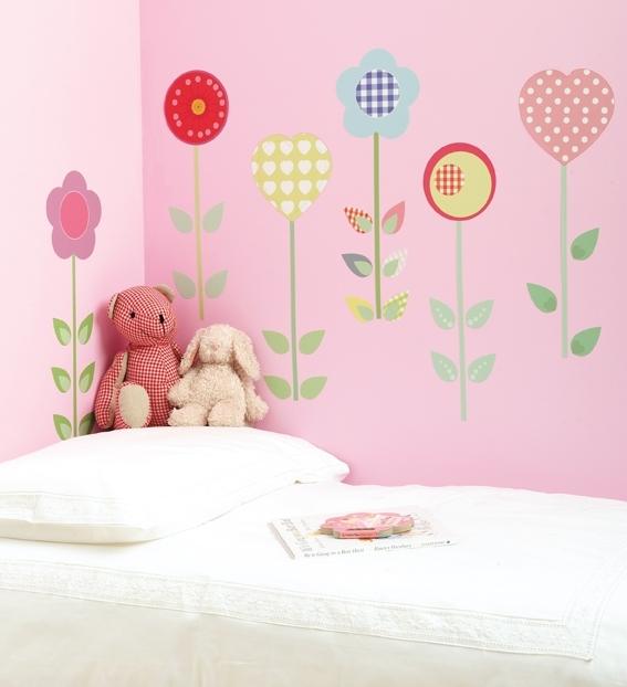 Sticker-fleur-pour-chambre-d-enfant